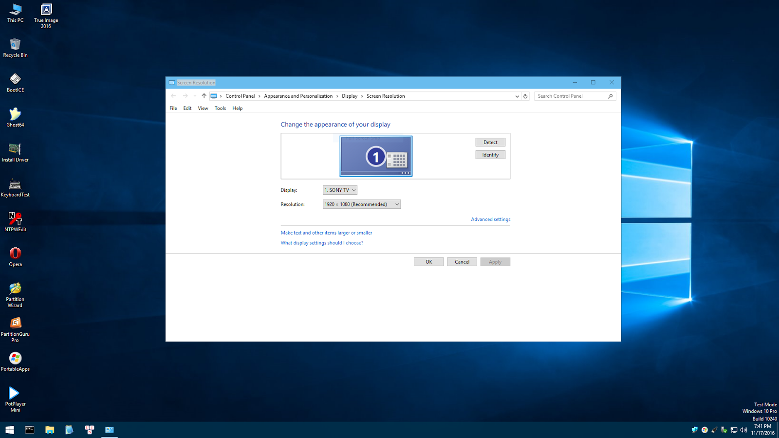 how to build windows 10 recovery cd