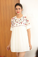 Lavanya Tripathi in Summer Style Spicy Short White Dress at her Interview  Exclusive 161.JPG