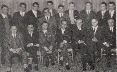 El equipo Campeón de Cataluña de Ajedrez 1967