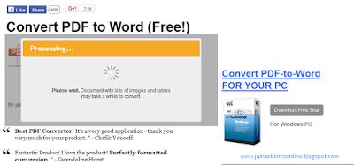 2 Cara Mudah Mengubah File PDF ke WORD Tanpa Software Terbaru