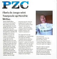 Floris de Jonge Winnaar Tourpoule