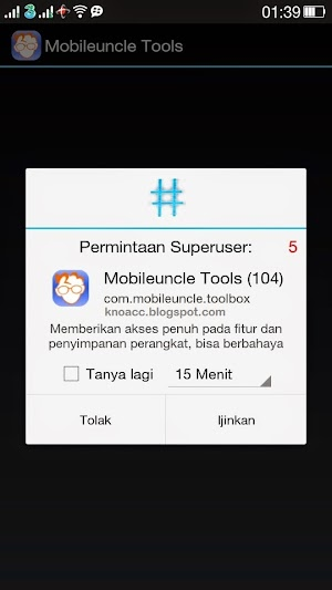 Akses Super User Mobile Uncle