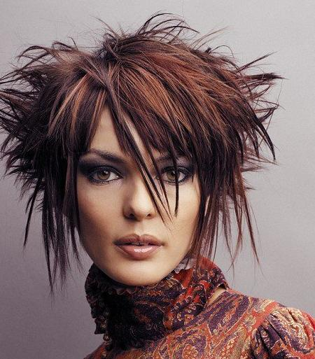 Layered Hairstyles Great And Beautiful Funky Hairstyles