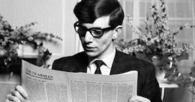 Portraits of a Young Stephen Hawking at College in May 1963