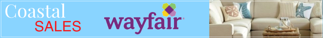 Coastal Home Decor Sales at Wayfair