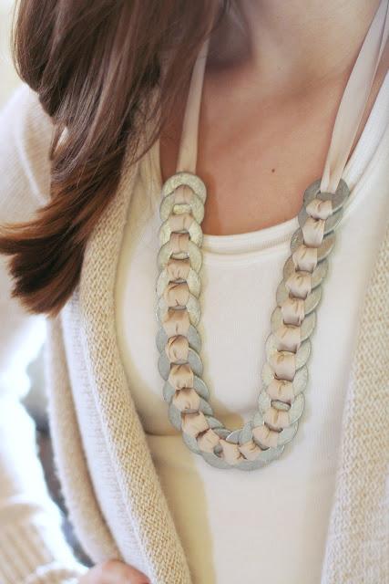 DIY : Bijoux avec des rondelles acier (3)