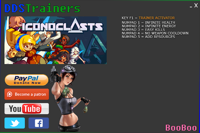 Iconoclasts Trainers and Cheats for PC