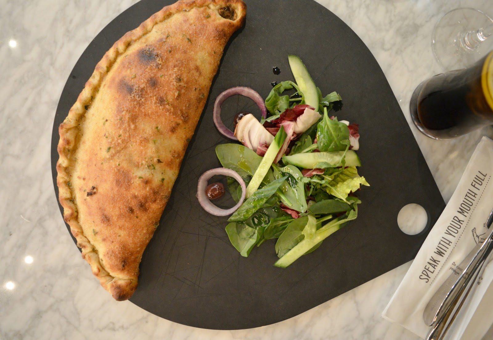 Intu Eldon Square: Grey's Quarter - ASK Italian Calzone
