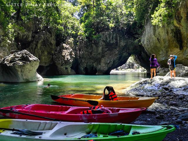 natural bridge, sohoton cave, basey samar, aqua mometum, banca cruise, tacloban
