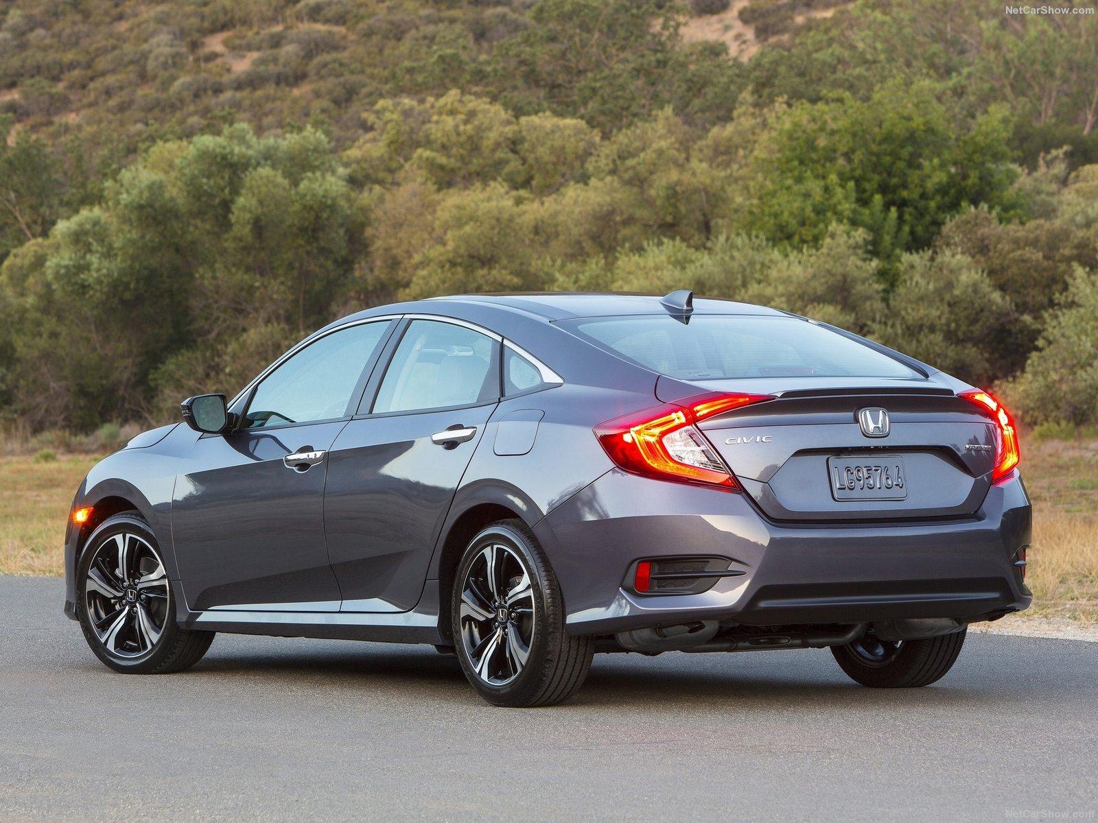 Honda Civic Sedan 2016 Back-Best Selling Cars