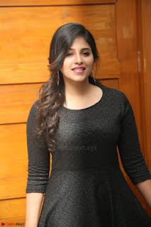 Anjali in Black Short Dress at Chitrangada Movie Success Meet ~  025.JPG