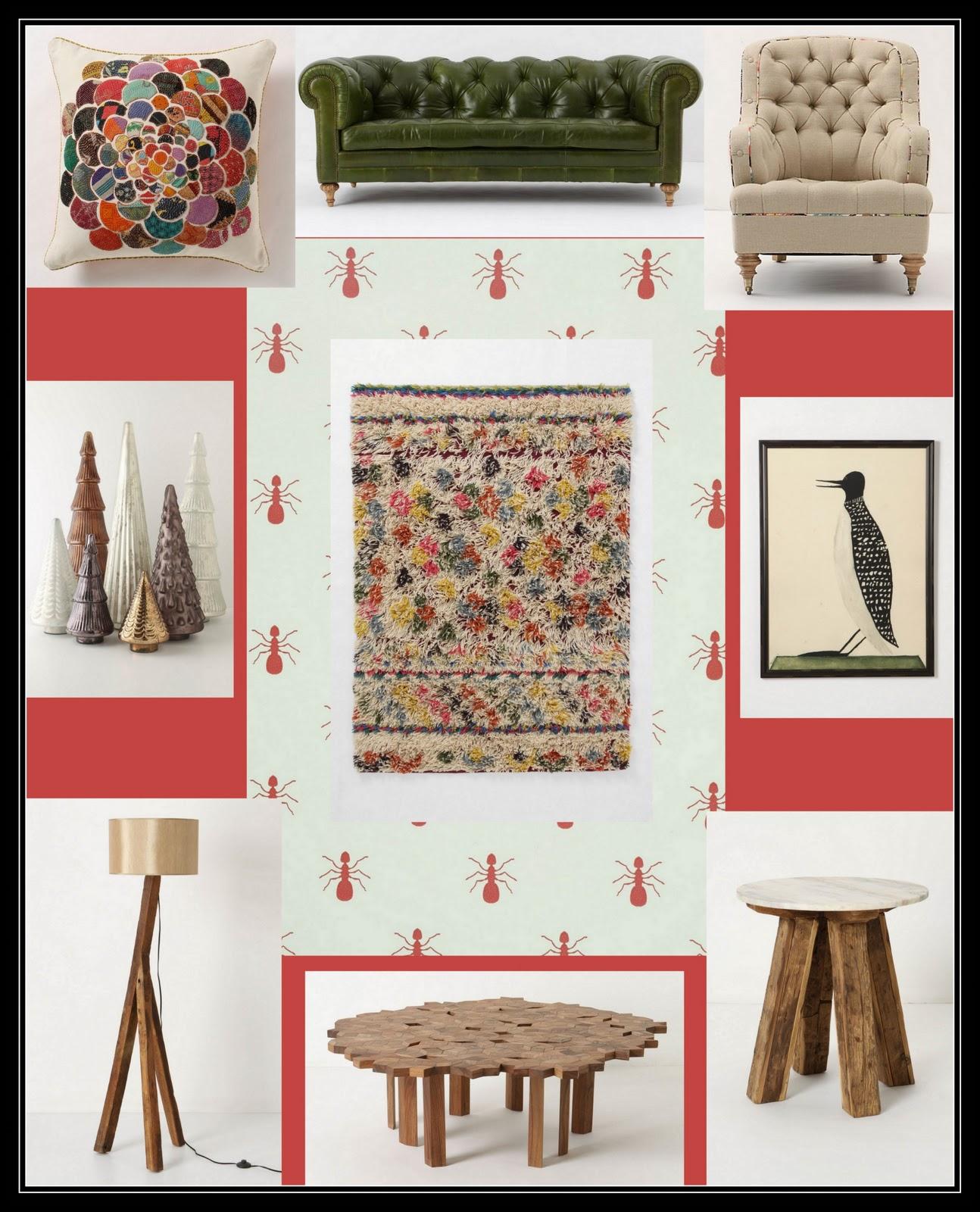 fabulous anthropologie inspired living room | GAFunkyFarmhouse: This 'n That Thursdays: An Anthropologie ...