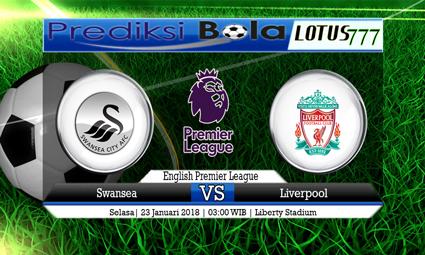 PREDIKSI SKOR Swansea vs Liverpool 23 Januari 2018