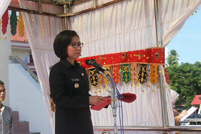 Bupati Bolmong Pimpin Upacara Hari Kesaktian Pancasila