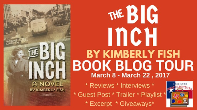 The Big Inch Book Blog Tour Guest Post #LoneStarLit