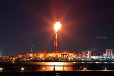 工場夜景 工場萌え 夜景 川崎 京浜工業地帯