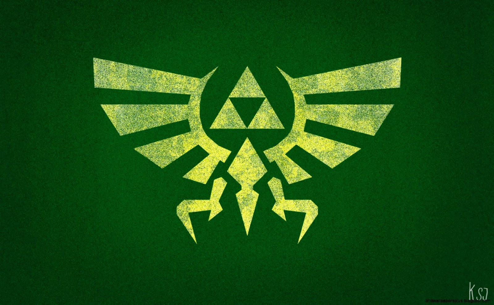 Triforce Wallpaper Hd Wallpapers Plus