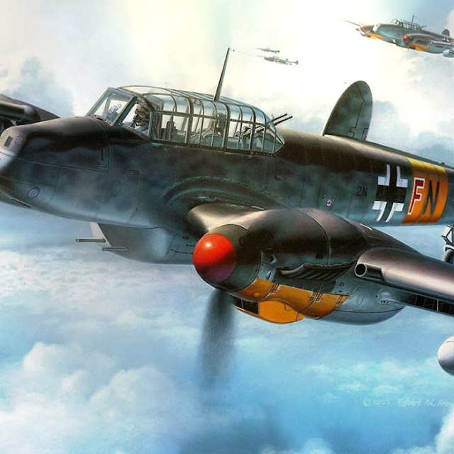 Messerschmitt Bf 110 Wallpaper Engine