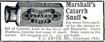 Marshall's Catarrh Snuff