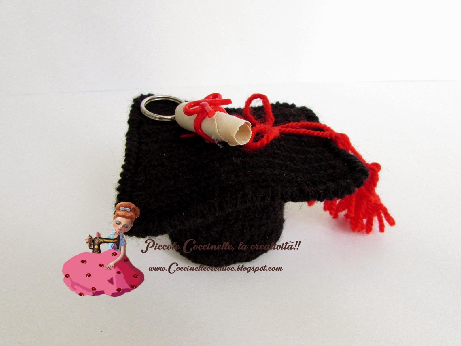 Cappello Laurea per confettata df81e6a6cfc5