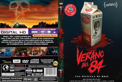 CARATULA - VERANO DEL 84 - Summer of 84 - 2019