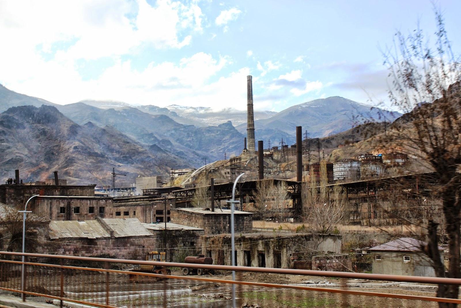 Armienia - stare miasto