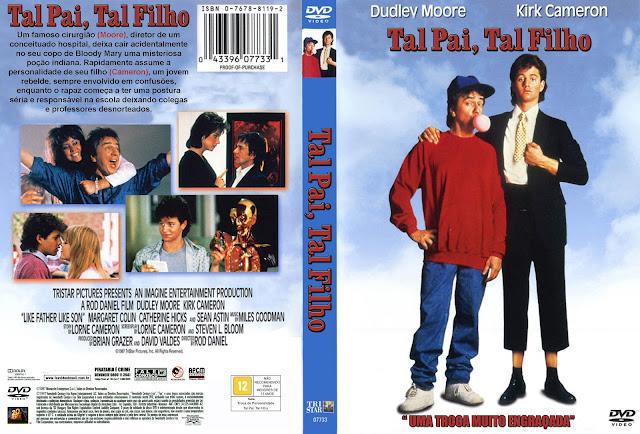 Capa DVD Tal Pai Tal Filho