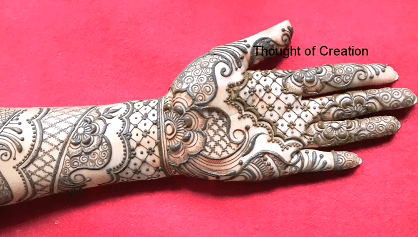 beautiful mehndi for front hand