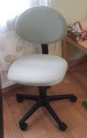tapicerowanie obrotowego krzesełka