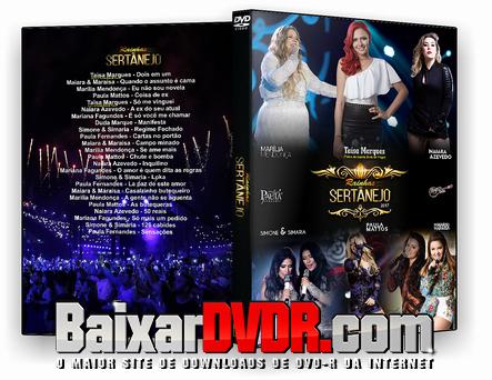 Rainhas do Sertanejo (2017) DVD-R
