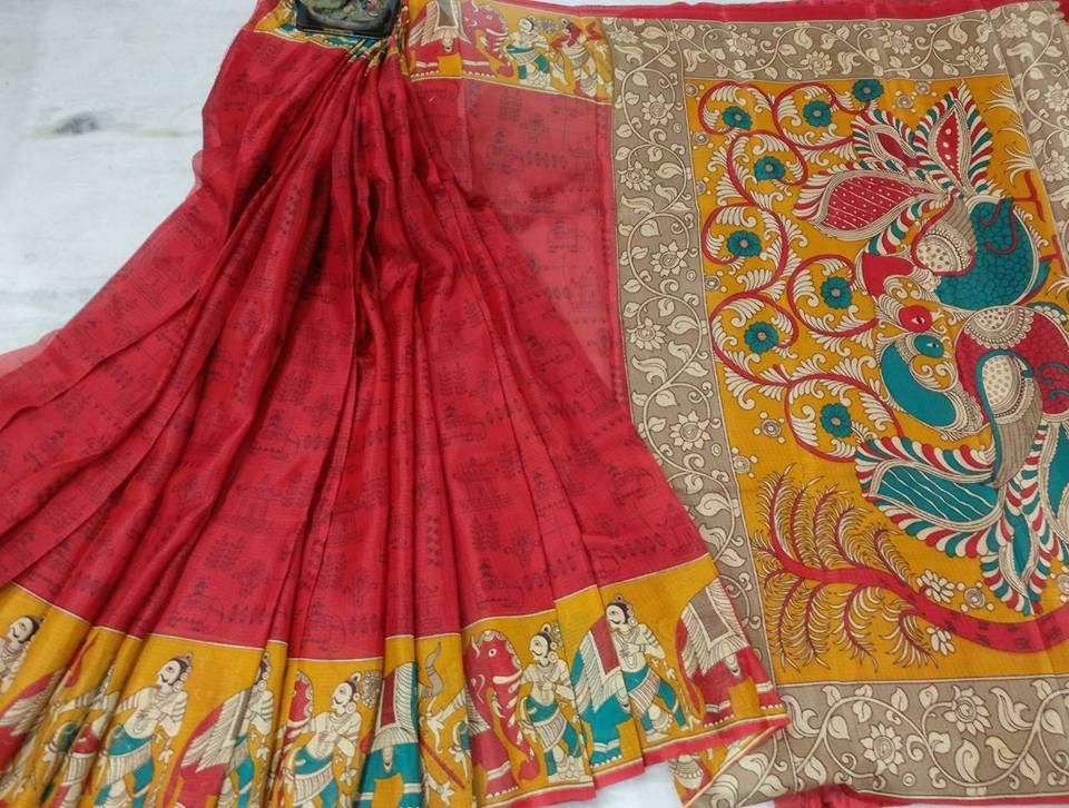 948eb7d3c68a4 kalamkari and pochampally printed manipuri kota silk sarees- rs 700 moq  10pcs mail at indigomartcollections gmail.com