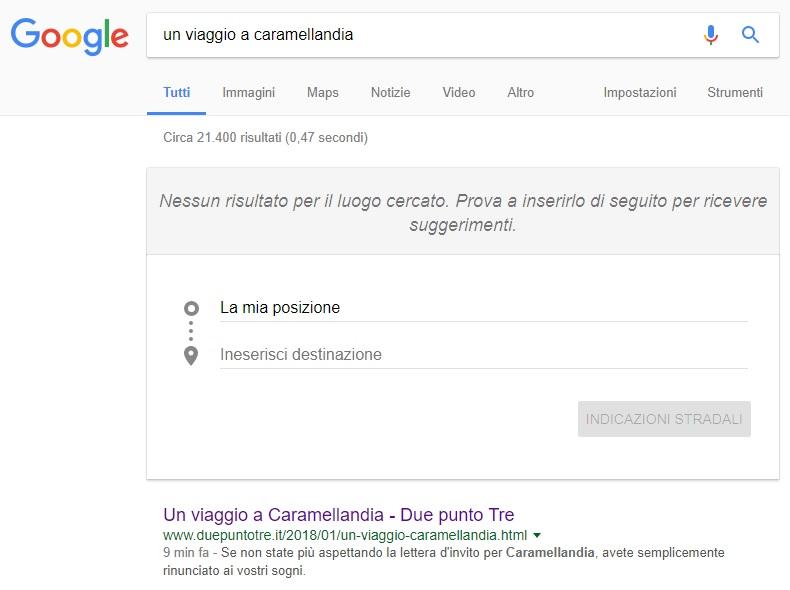 Quanta tenerezza in Google, non trovate?