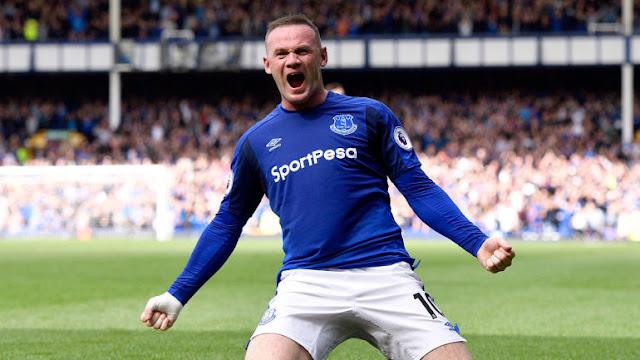 Rooney Kukatwa  Mshahara wa Wiki Mbili na Klabu ya Everton