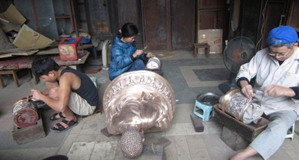 Tour tham quan cac den Quan Thanh Ngu Xa