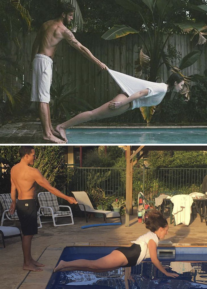 #5 - Woman Continues To Hilariously Recreate Celebrity Instagram Photos