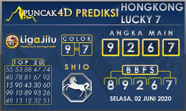 PREDIKSI TOGEL HONGKONG LUCKY 7 PUNCAK4D 02 JUNI 2020