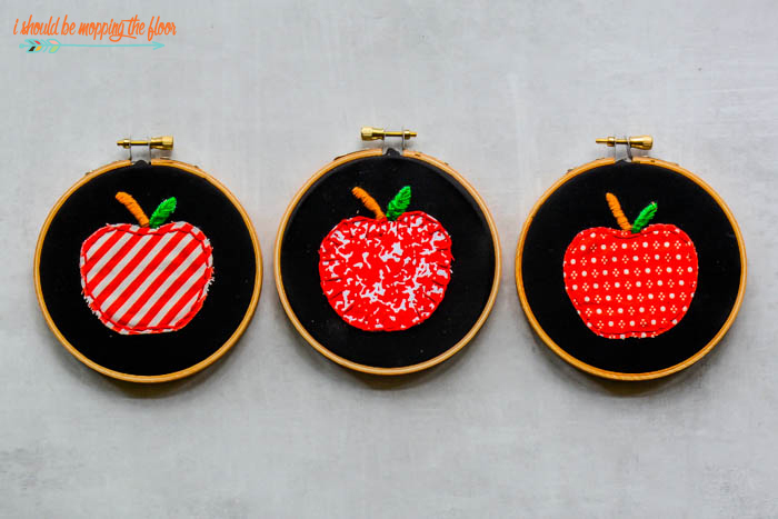 Apple Hoop Art