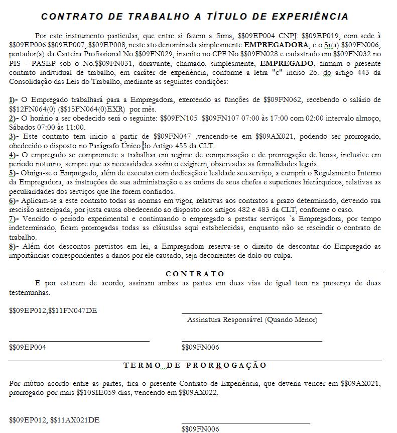 Contrato temporário por excepcional interesse público 7