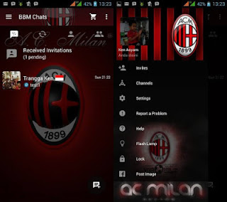 BBM MOD Thema AC MILAN v3.0.0.18 APK