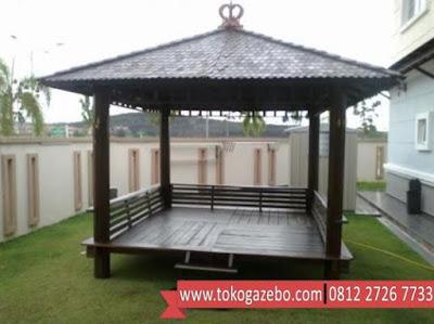 Gazebo Glugu Jepara Atap Sirap
