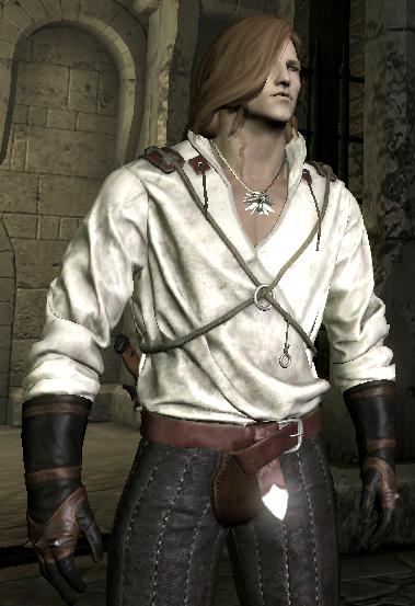 Skyrim Mods Highlights: The Witcher 3 Geralt Prologue Gear