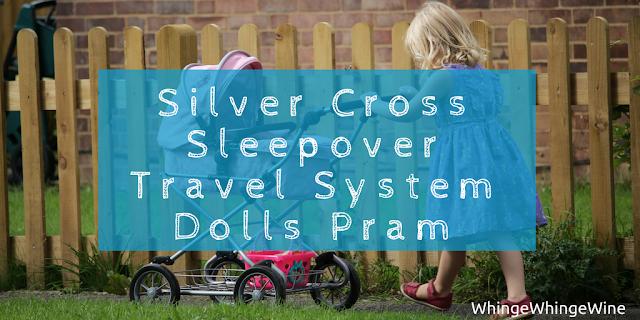 Play Like Mum Silver Cross Sleepover Travel System Dolls Pram review