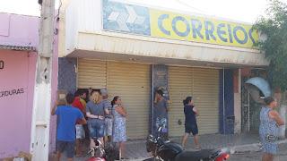 Bandidos tentaram assaltar Bradesco e Correios em Coronel Ezequiel
