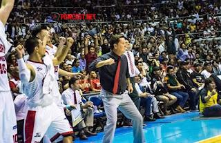 Coach Tim Cone and Barangay Ginebra
