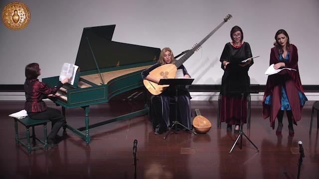 """Ναύπλιο: Οι Canto Soave αποκαλύπτουν τη  """"Μυστική ζωή"""" και τη """"Μυστική Μουσική"""" του 17ου αιώνα της Ιταλίας"""