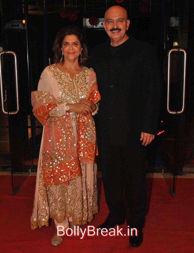 Rakesh Roshan, Pinky., Hot Pics of Divyanka Tripathi At Karan Patel Ankita Bhargava's sangeet ceremony