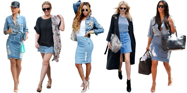 How to create stylish and modern outfits with denim skirt
