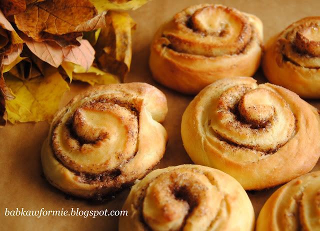 kanelbullar szwedzkie bułeczki cynamonowe babkawformie.blogspot.com