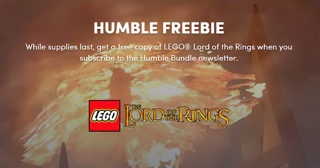 Cara Mendapatkan Game Lego Lord Of The Rings Gratis Dari Humble Bundle