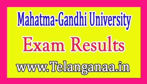 MGU B.Ed (Special Education) 2nd Sem Exam Results 2016